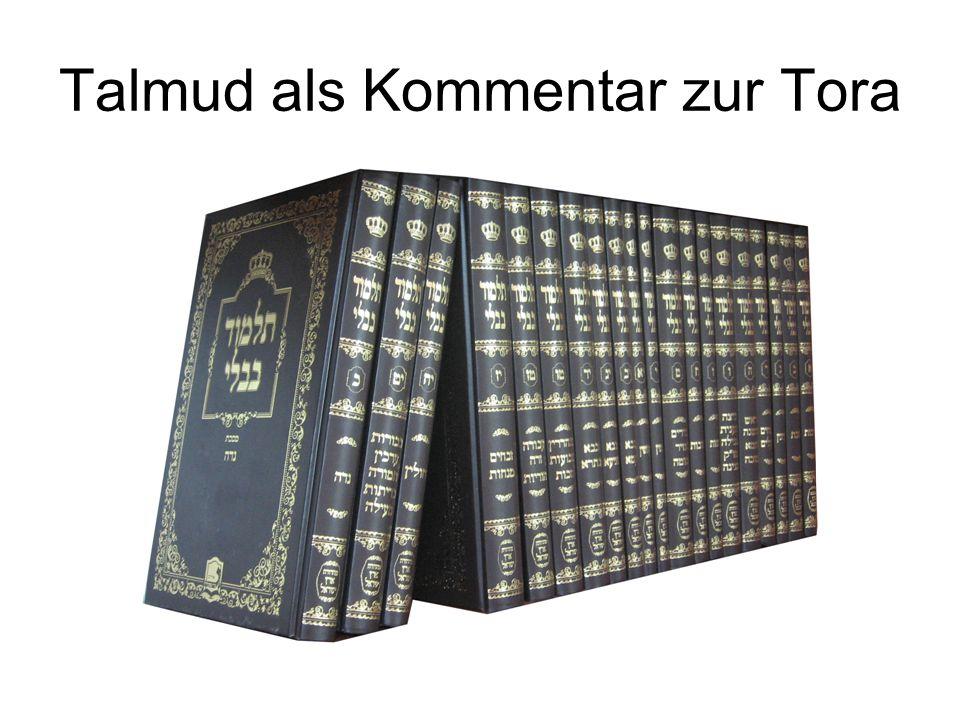 Talmud als Kommentar zur Tora