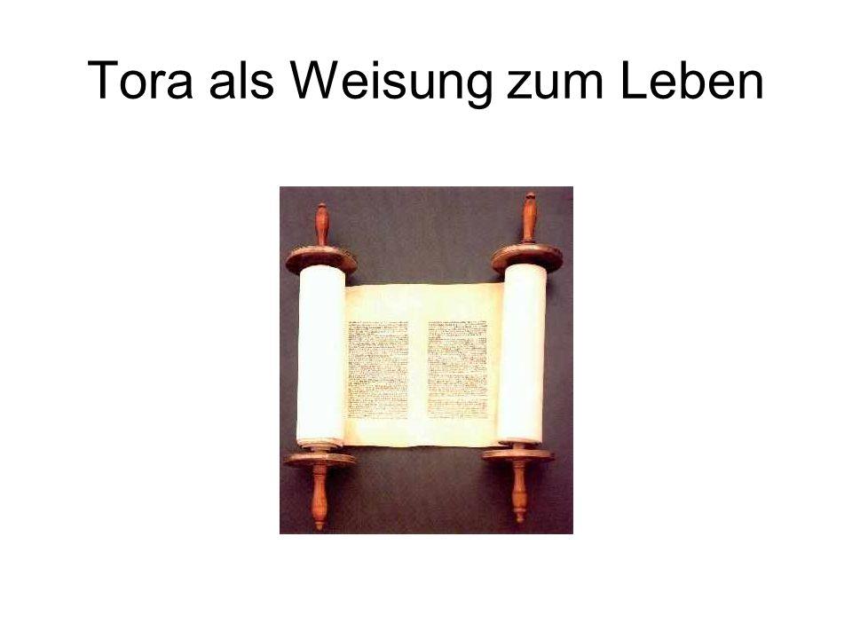 Tora 10 Gebote Die 5 Bücher Moses (Pentateuch) Tenach (Altes Testament) Tenach und Tradition (Talmud) Verschiedene Formen von Judentum: traditionell, konservativ, liberal, Reformjudentum und andere
