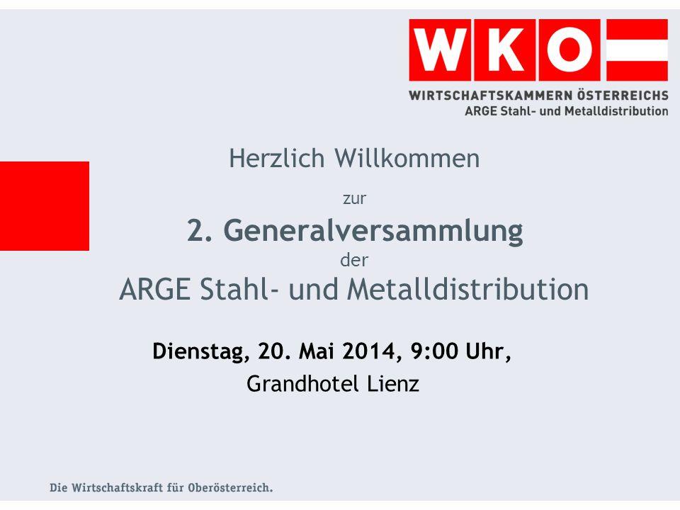 Dienstag, 20.Mai 2014, 9:00 Uhr, Grandhotel Lienz Herzlich Willkommen zur 2.
