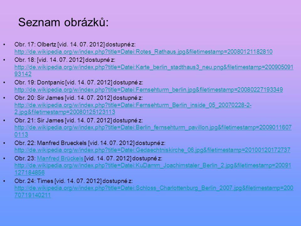 Obr. 17: Olbertz [vid. 14. 07. 2012] dostupné z: http://de.wikipedia.org/w/index.php?title=Datei:Rotes_Rathaus.jpg&filetimestamp=20080121182810 http:/