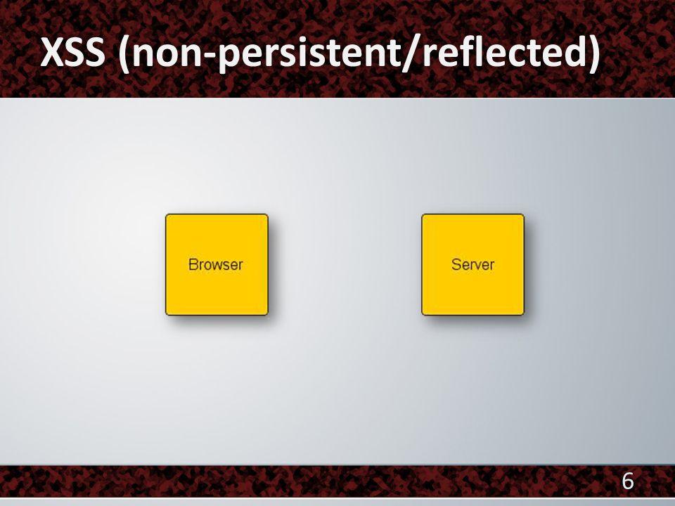  Clientseitig Session IDs Erweiterungen wie NoScript Cookies verbieten  Serverseitig Tokens HTML Entities verwenden URL Encode verwenden 27