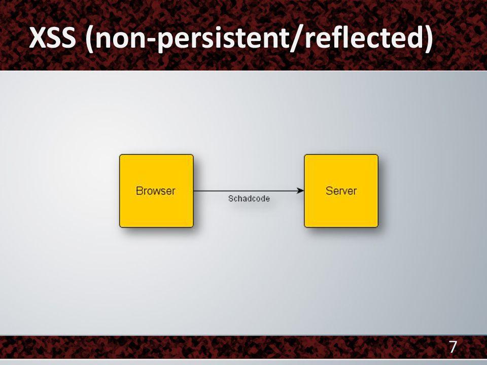 """ Beispiel Anfrage in Formularfeld: alert( XSS ) Anfrage in HTML Entities: <script>alert(&#039;XSS&#039;)</scri pt> Anfrage in URL Encode: %3Cscript%3Ealert%28%27XSS%27%29%3C% 2Fscript%3E JavaScript Interpreter: """"? 28"""