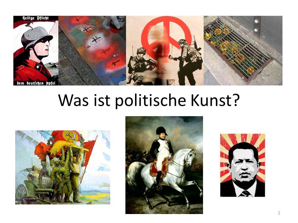 Was ist politische Kunst? 2