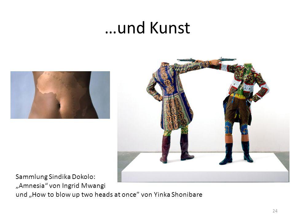 """…und Kunst Sammlung Sindika Dokolo: """"Amnesia"""" von Ingrid Mwangi und """"How to blow up two heads at once"""" von Yinka Shonibare 24"""