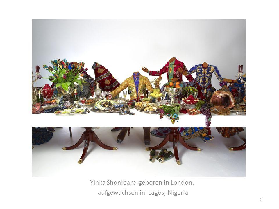 Yinka Shonibare, geboren in London, aufgewachsen in Lagos, Nigeria 3
