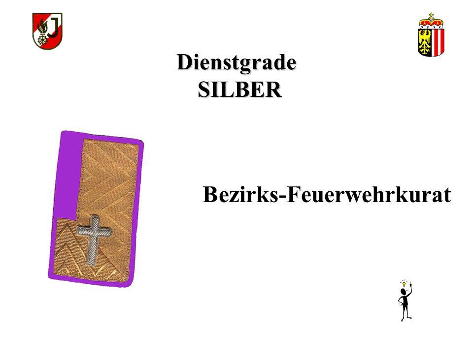 Dienstgrade SILBER Bezirks-Feuerwehrkurat
