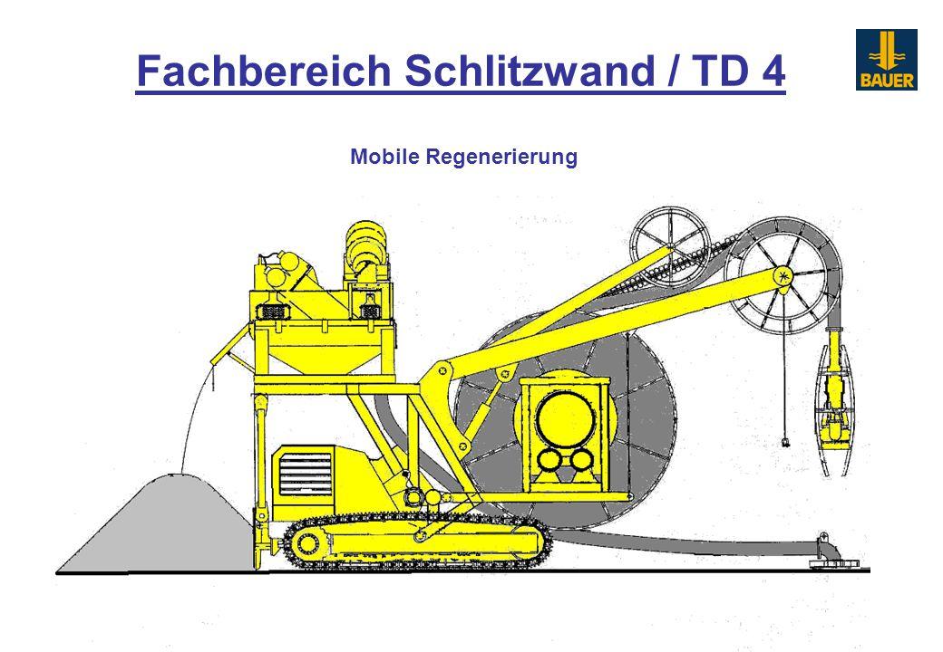 Mobile Regenerierung