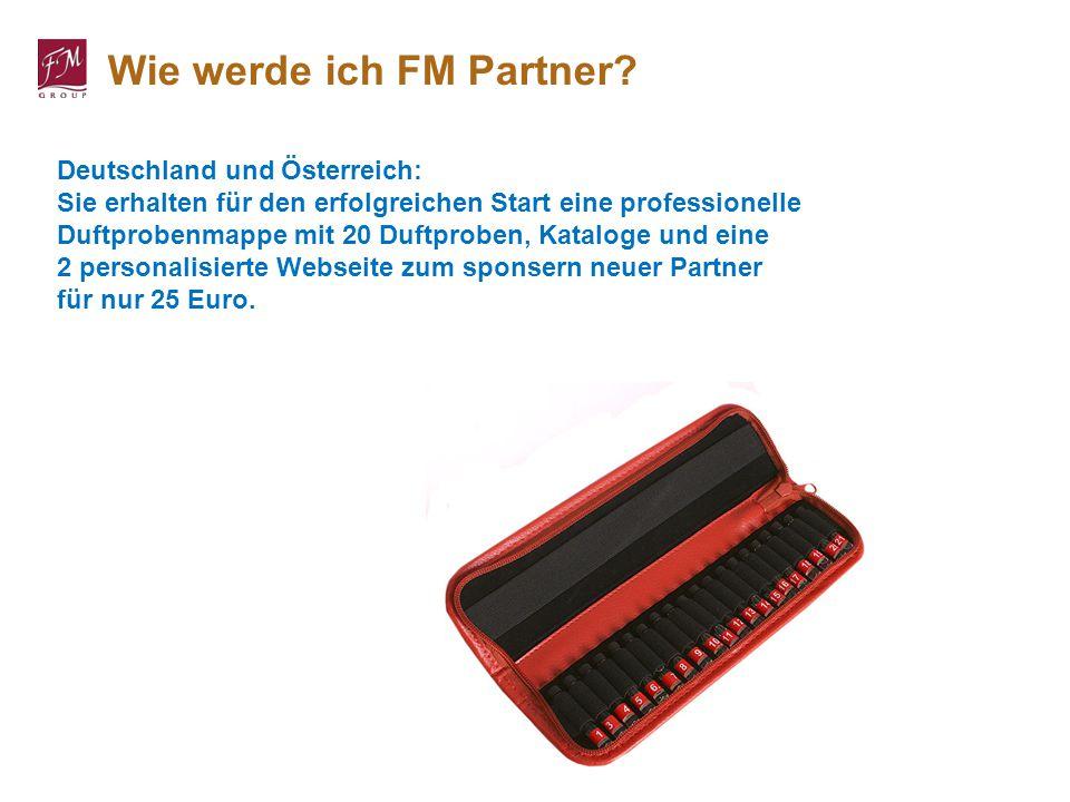 Deutschland und Österreich: Sie erhalten für den erfolgreichen Start eine professionelle Duftprobenmappe mit 20 Duftproben, Kataloge und eine 2 person