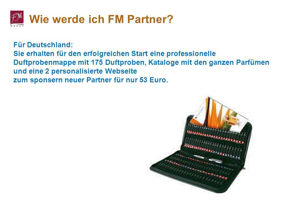 Für Deutschland: Sie erhalten für den erfolgreichen Start eine professionelle Duftprobenmappe mit 175 Duftproben, Kataloge mit den ganzen Parfümen und