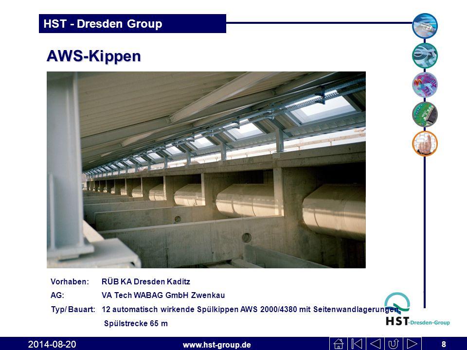 www.hst-group.de HST - Dresden Group AWS-Schütz 19 2014-08-20 Vorhaben: Buttstädt, HS Süd, 2.