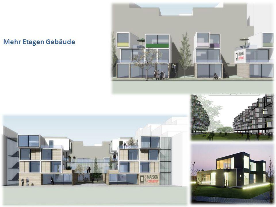 Mehr Etagen Gebäude