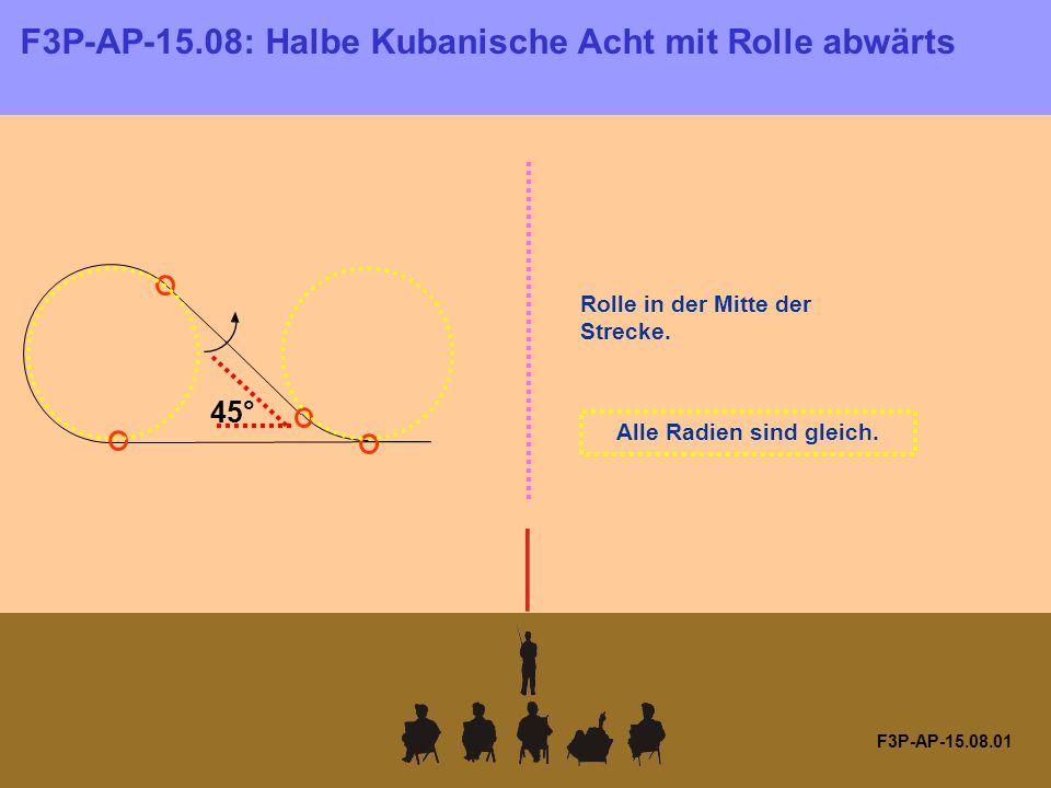 F3P-AP-15.08.01 Rolle in der Mitte der Strecke. Alle Radien sind gleich.