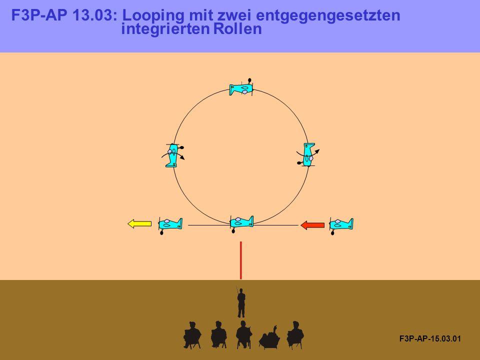 F3P-AP-15.08.01 Rolle in der Mitte der Strecke.Alle Radien sind gleich.