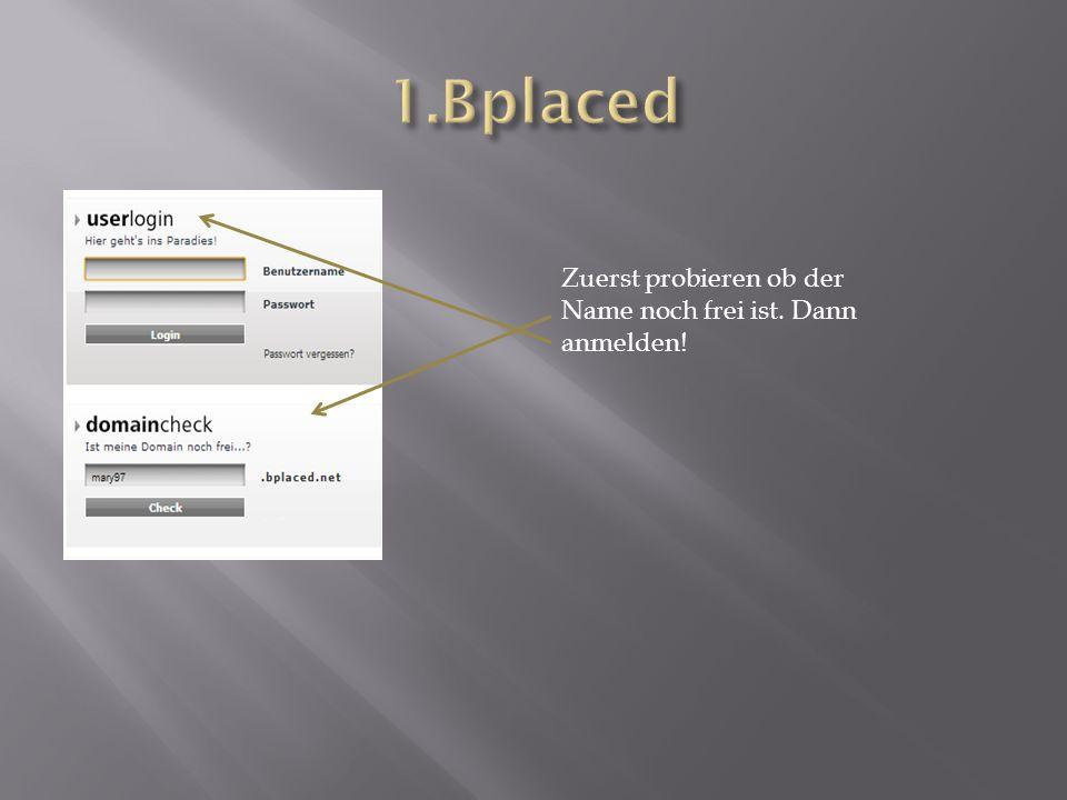 2. Einen Datenbank anlegen