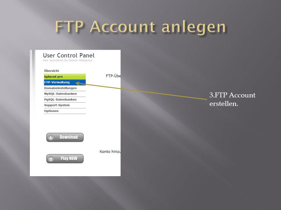 Benutzername und Passwort eingeben. und auf verbinden klicken