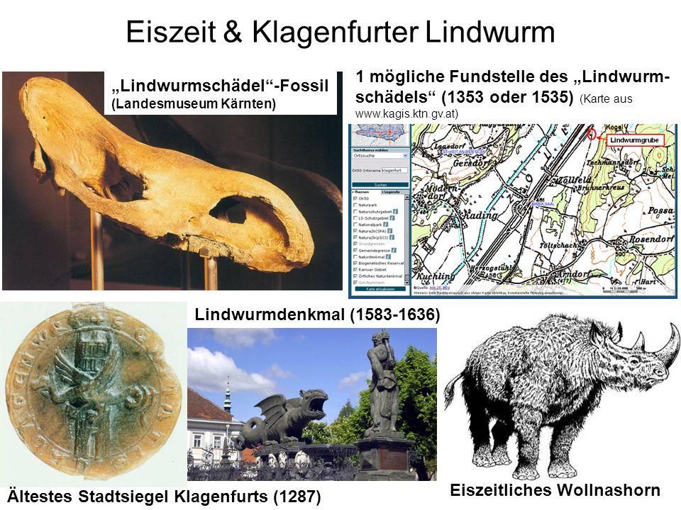 Paläolithikum in Österreich Fundstellen des Paläolithikums (aus Urban, 2000/2003); ergänzt um Uschowa/Potočnik-Höhlen H