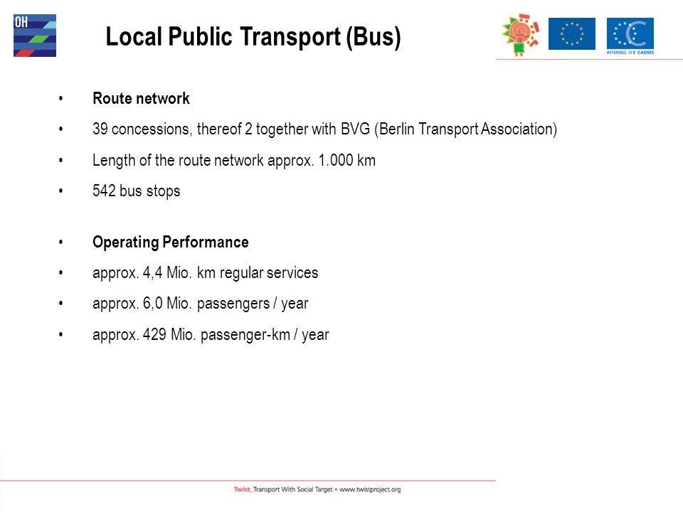 Brandenburg Public Transport Law Principles applicable for street bound public transport (incl.