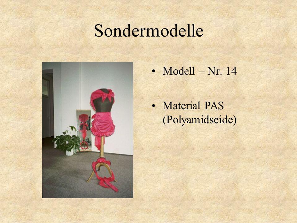 Sondermodelle Modell – Nr. 13 Material PAS (Polyamidseide)