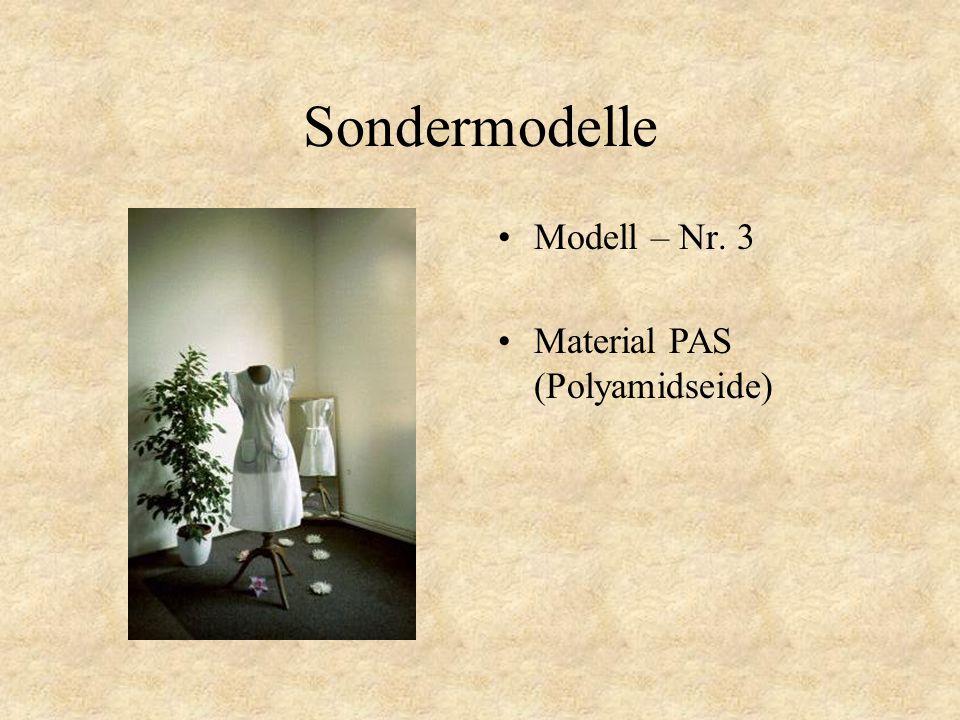 Sondermodelle Modell – Nr. 2 Material PAS (Polyamidseide)