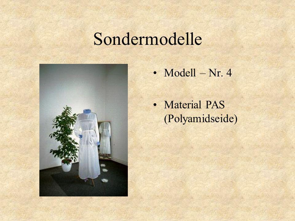 Sondermodelle Modell – Nr. 3 Material PAS (Polyamidseide)