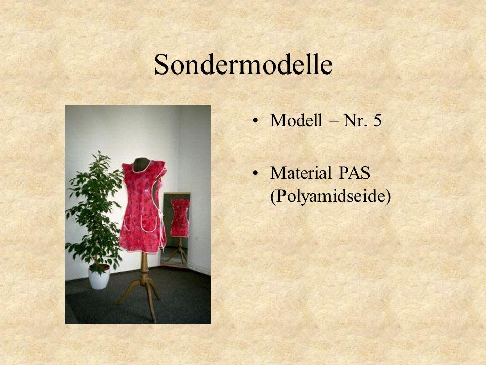 Sondermodelle Modell – Nr. 4 Material PAS (Polyamidseide)