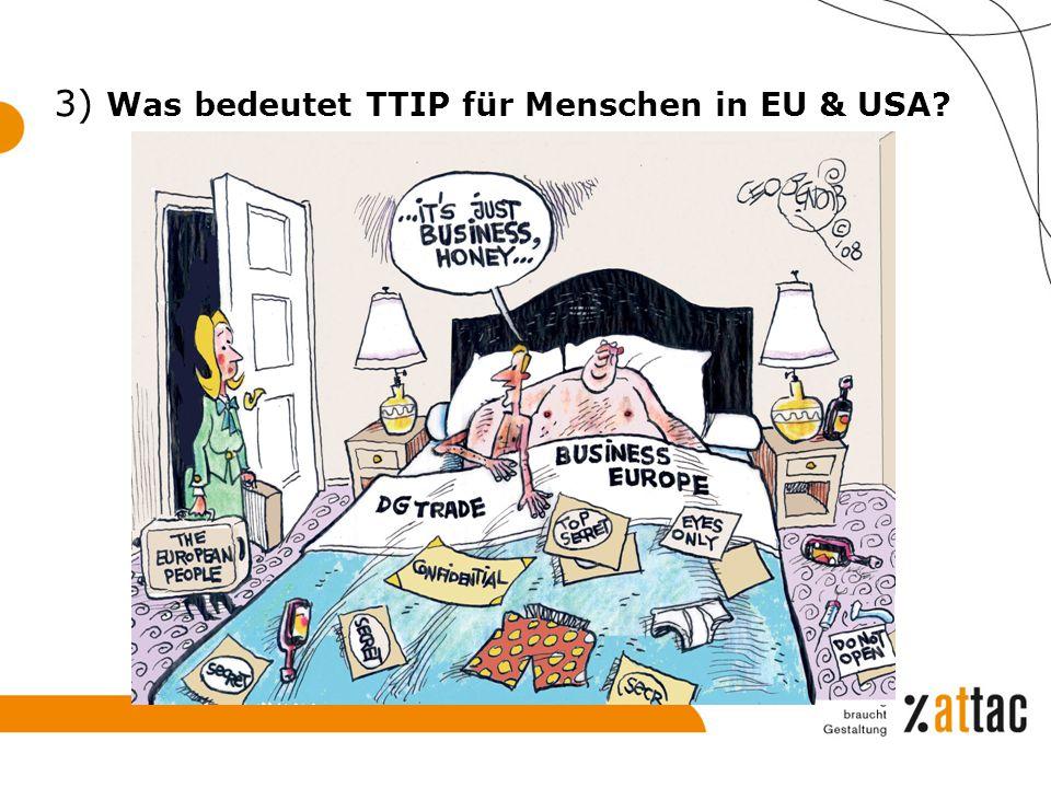 3) Was bedeutet TTIP für Menschen in EU & USA?