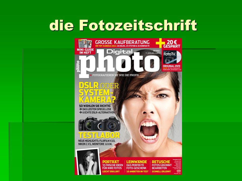 die Fotozeitschrift