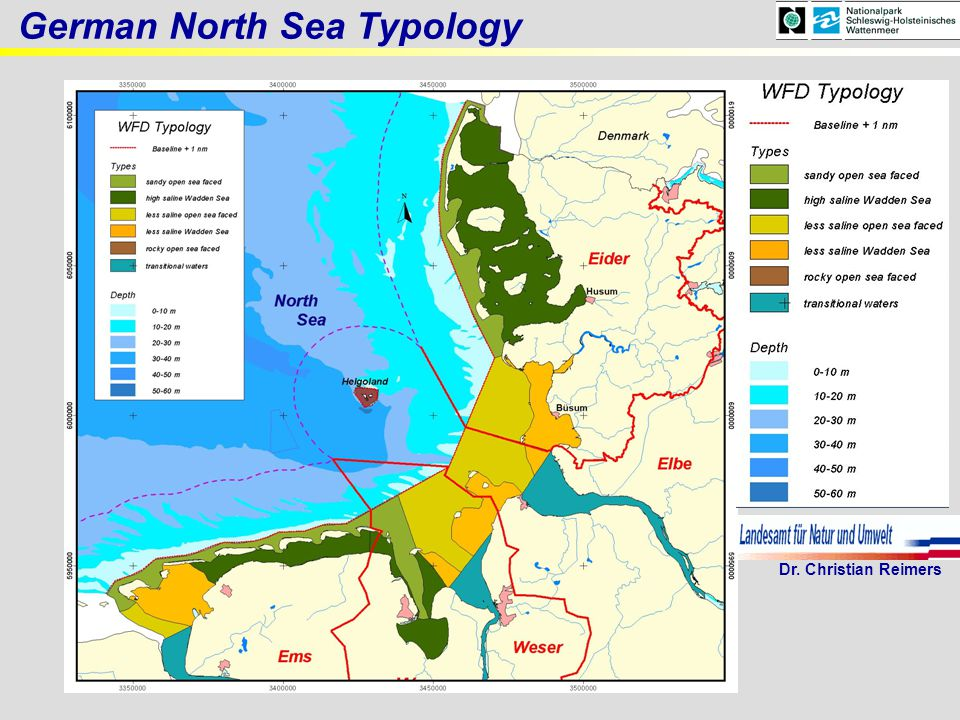 , German North Sea Typology Dr. Christian Reimers