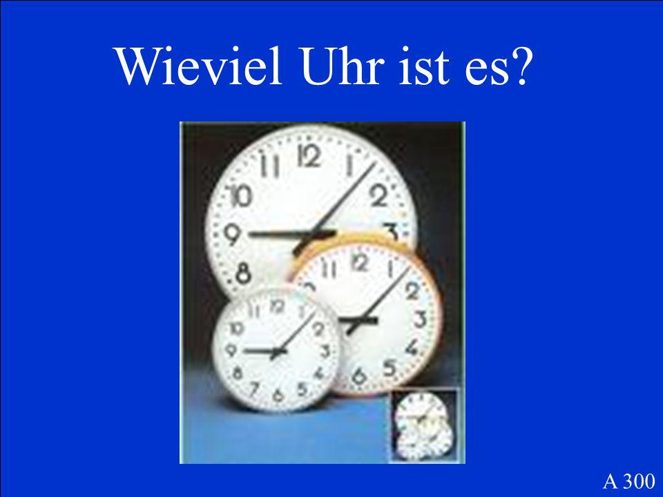 Es ist … zwanzig Minuten nach zwölf oder zwölf Uhr zwanzig oder vierundzwanzig Uhr zwanzig A 200