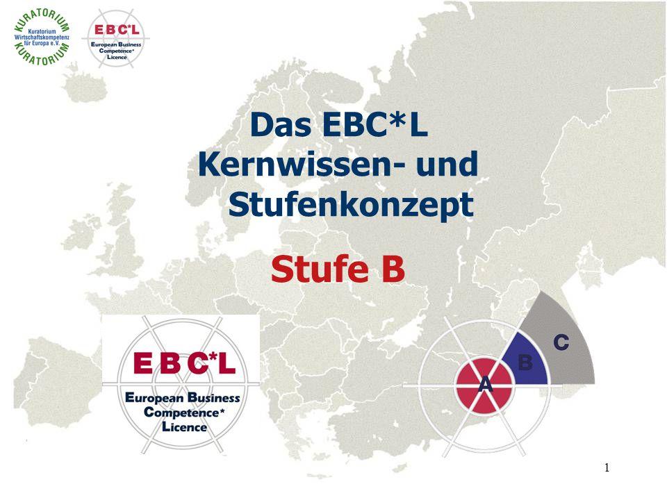 1 Das EBC*L Kernwissen- und Stufenkonzept Stufe B