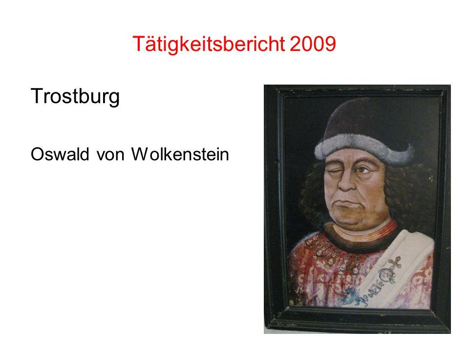 Trostburg Oswald von Wolkenstein