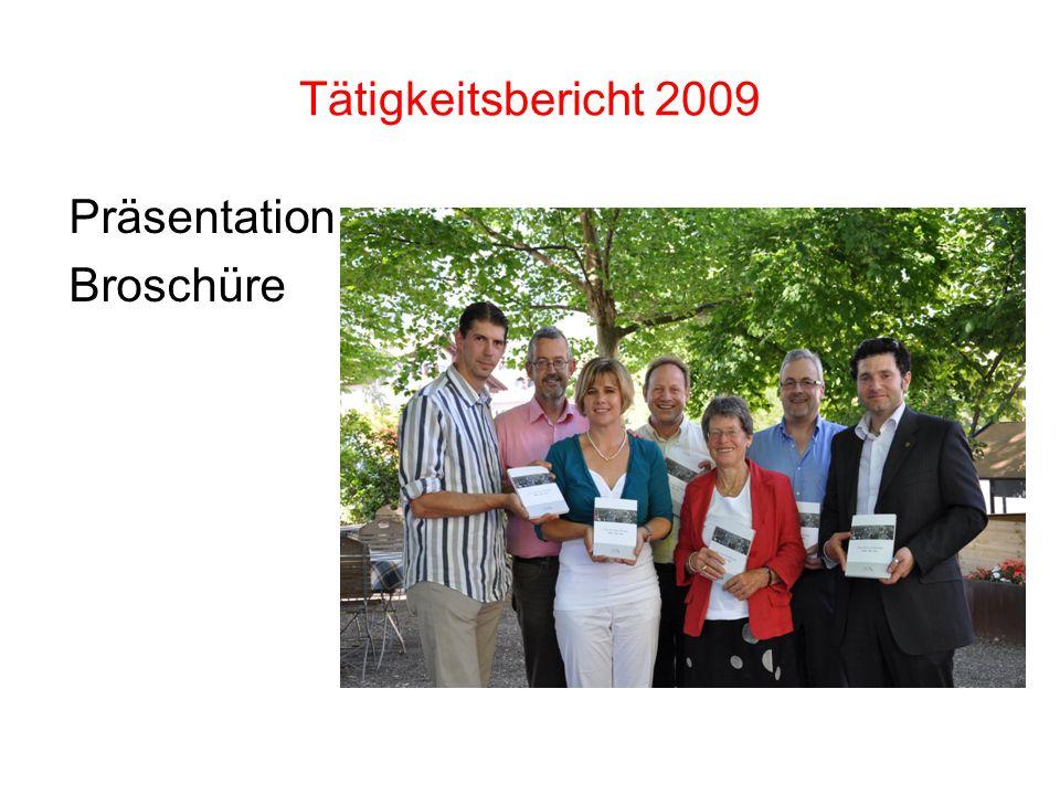 Präsentation Broschüre