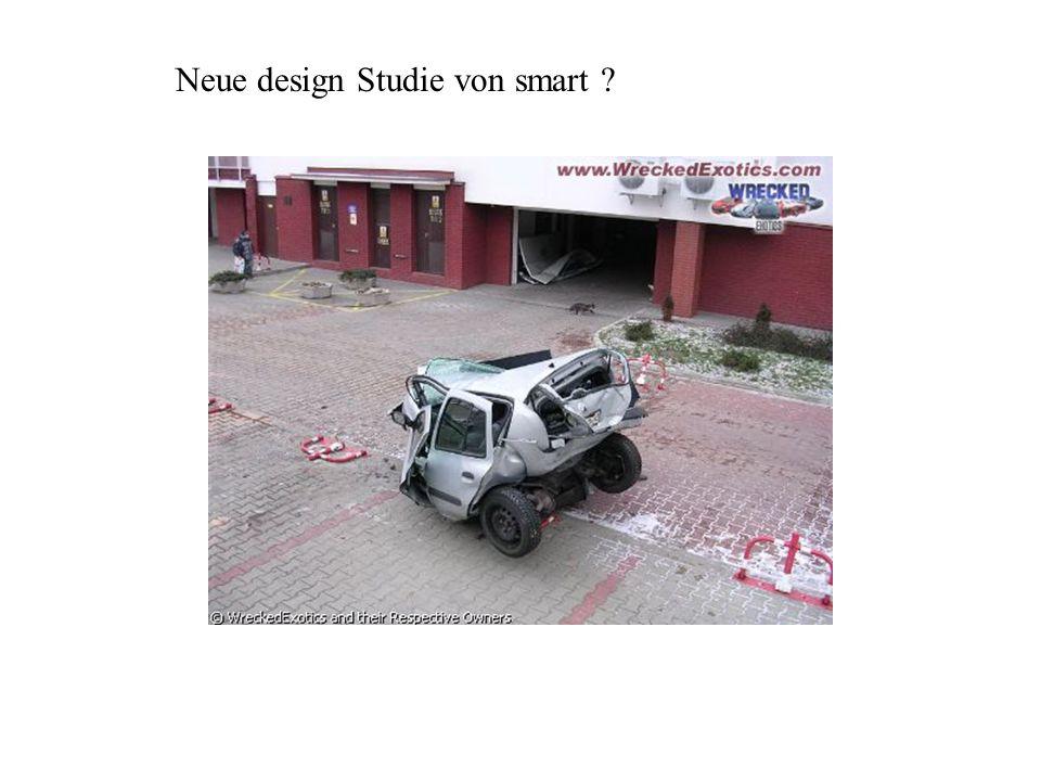 Neue design Studie von smart