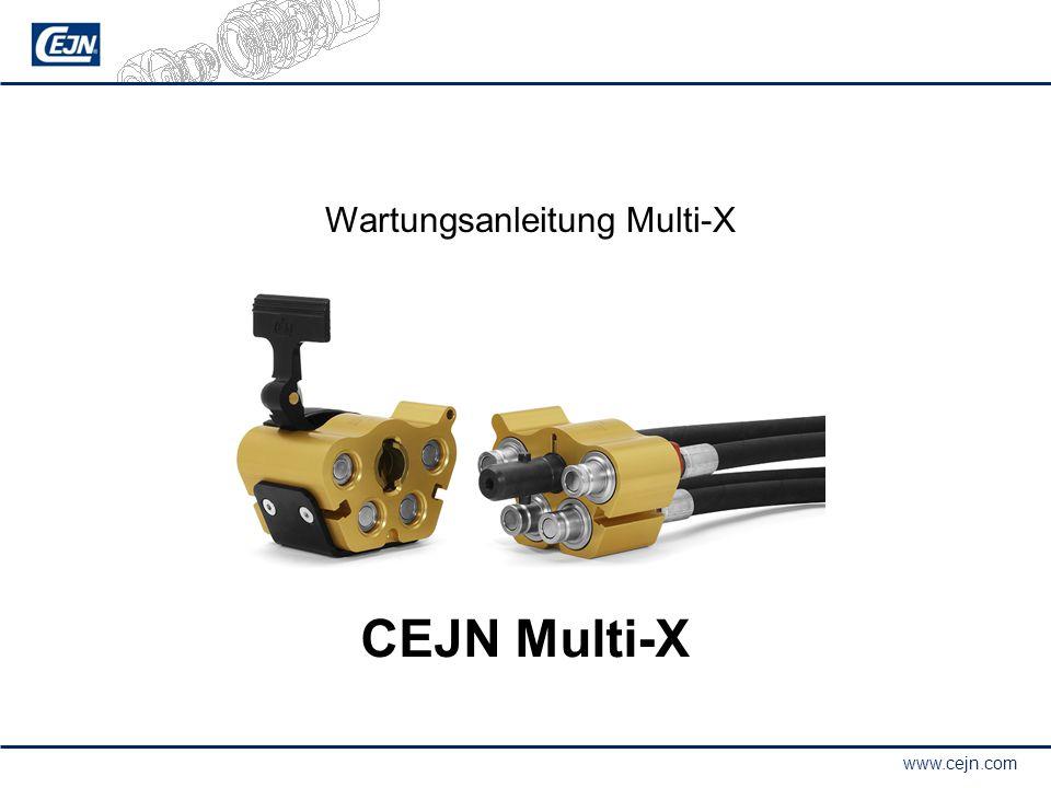 www.cejn.com CEJN Multi-X Wartungsanleitung Multi-X