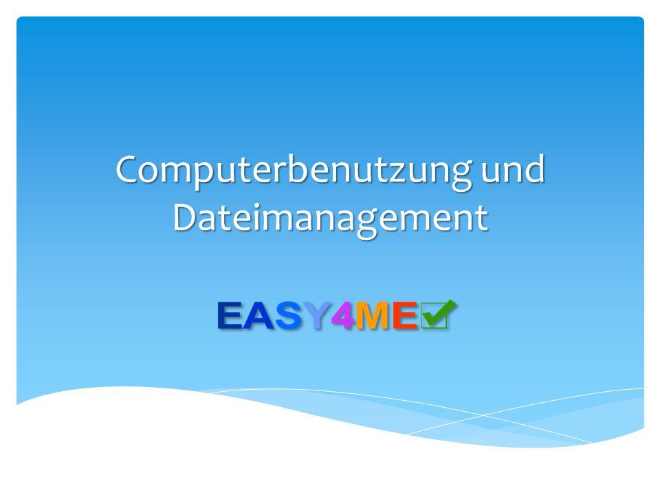  Weniger Speicherplatzbedarf  Kleinere E-Mailanhänge  Kann viele Ordner und Dateien beinhalten  ZIP-komprimierte Ordner müssen extrahiert werden ZIP-komprimierte Ordner Komprimieren 2,4 MB 12 KB