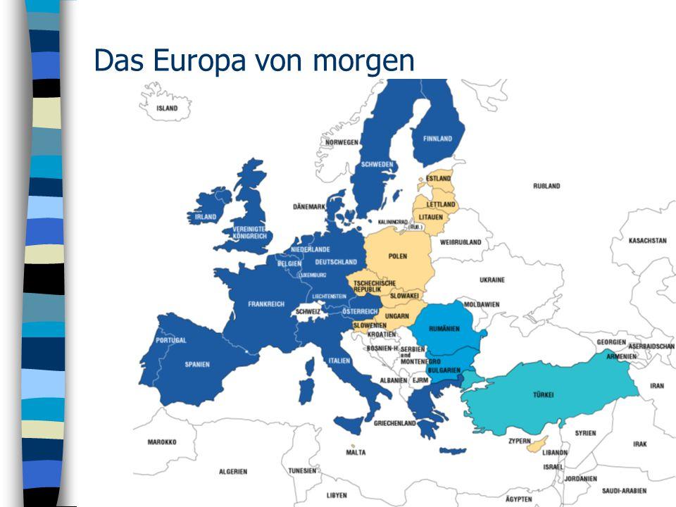 Das Europa von morgen