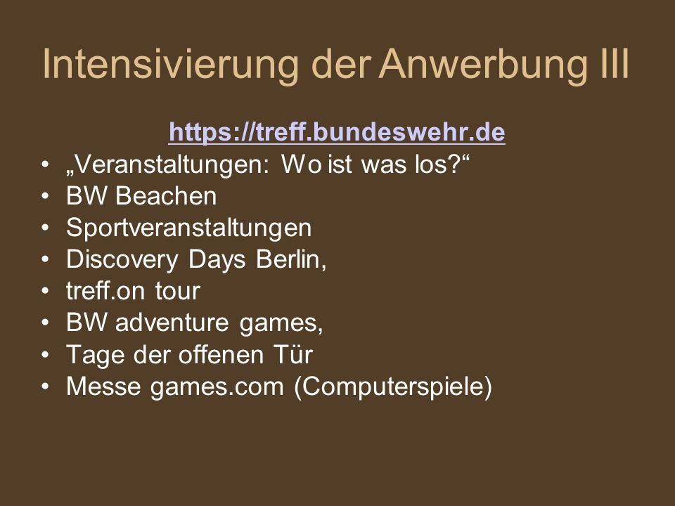"""https://treff.bundeswehr.de """"Veranstaltungen: Wo ist was los?"""" BW Beachen Sportveranstaltungen Discovery Days Berlin, treff.on tour BW adventure games"""