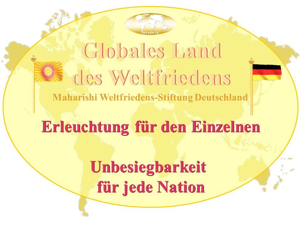 Weltfrieden und Unbesiegbarkeit für jede Nation