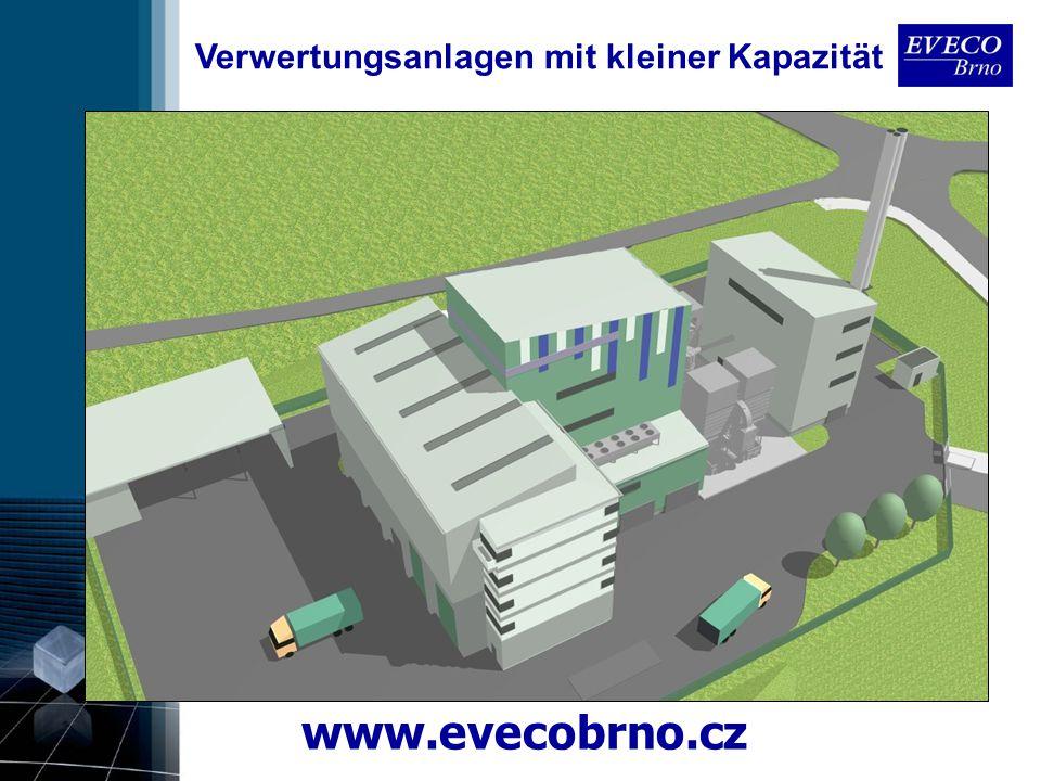 www.evecobrno.cz Verwertungsanlagen mit kleiner Kapazität