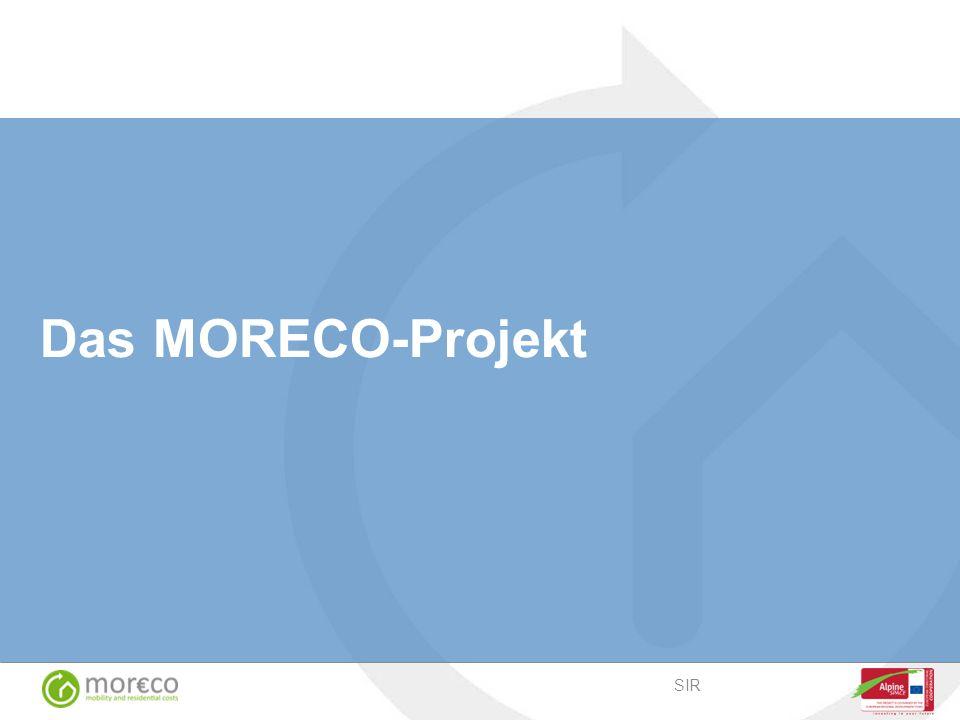 Das MORECO-Projekt SIR