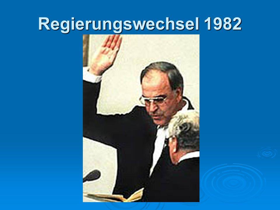 Regierungswechsel 1982