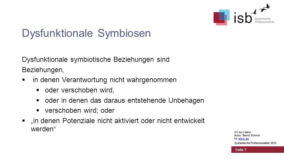 CC-by-Lizenz, Autor: Bernd Schmid für isb-w.euisb-w.eu Systemische Professionalität 2013 Seite 18 Schöpfermacht meint die Fähigkeit, kokreative Inszenierungen zu schaffen.