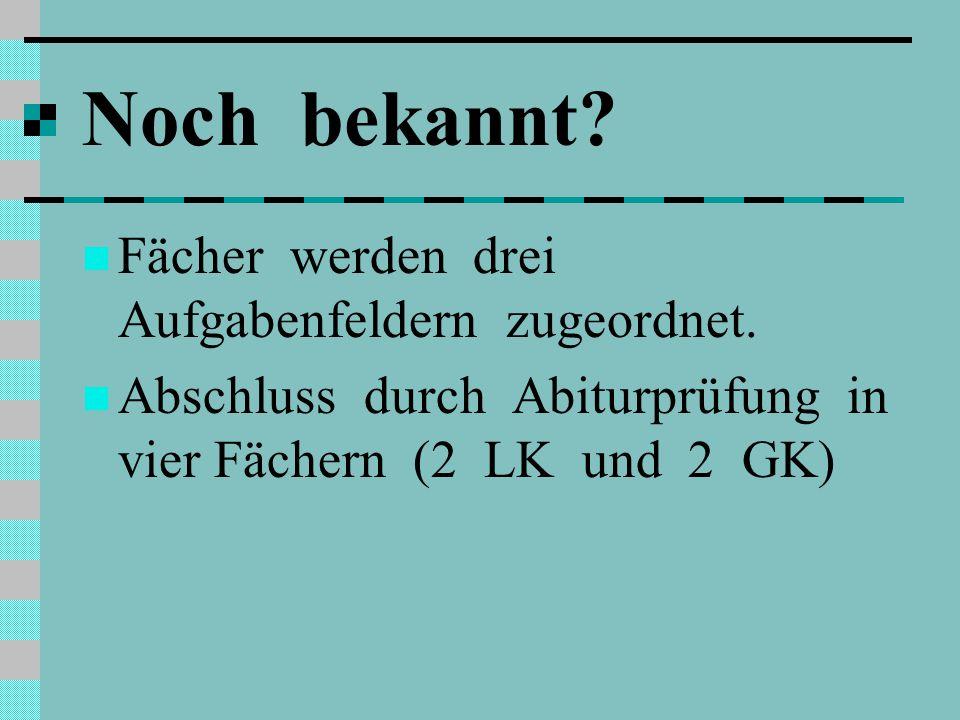 Versetzung EF Q1 Grundlage: Leistungen in 9 Kursen des Pflichtbereichs Deutsch, fortgeführte Fremdsprache, Kunst oder Musik, eine Gesellschaftswissenschaft, Mathematik, eine Naturwissenschaft, Religion, Sport, Schwerpunktfach und 1 Kurs des Wahlbereichs