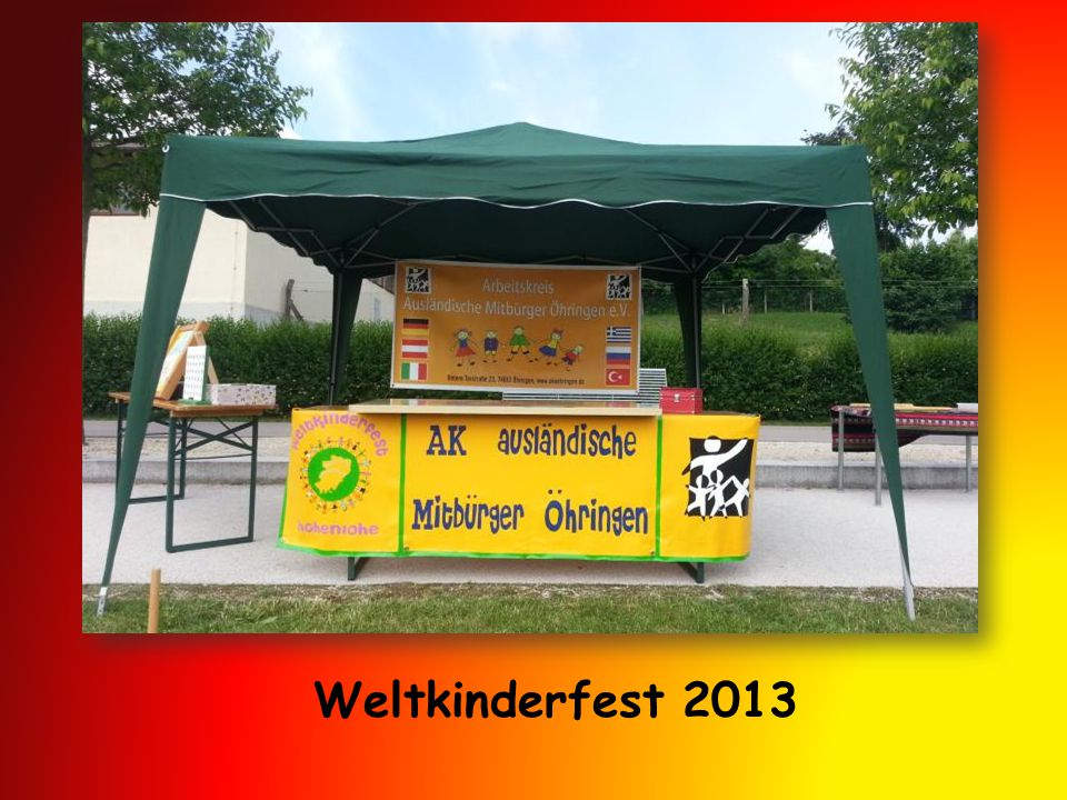 Weltkinderfest 2013