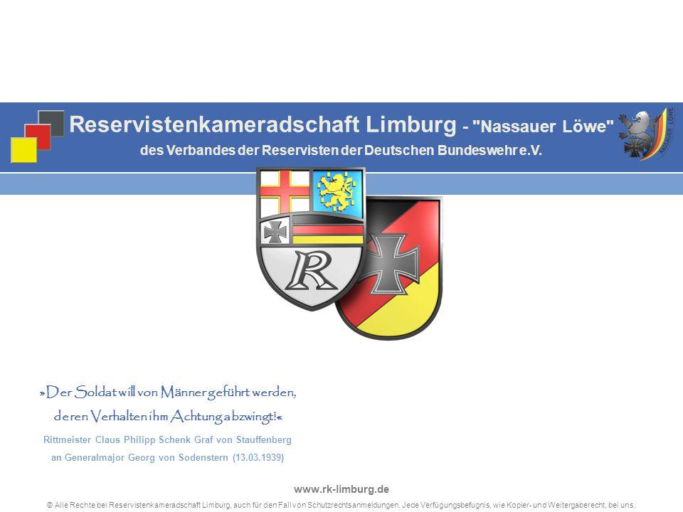 Reservistenkameradschaft Limburg - Nassauer Löwe des Verbandes der Reservisten der Deutschen Bundeswehr e.V.