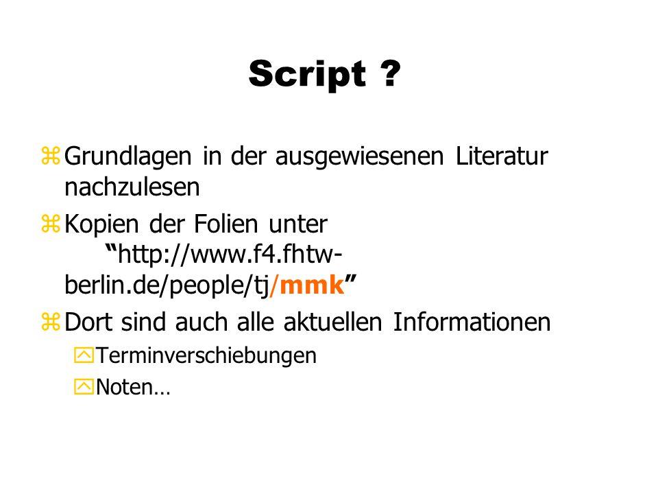 Script .
