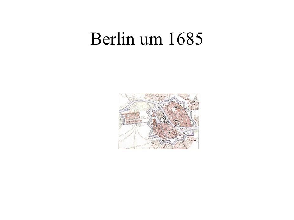 Berlin um 1685