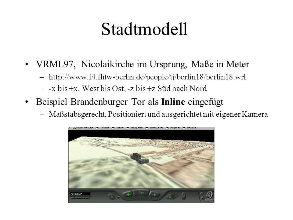 Stadtmodell VRML97, Nicolaikirche im Ursprung, Maße in Meter –http://www.f4.fhtw-berlin.de/people/tj/berlin18/berlin18.wrl –-x bis +x, West bis Ost, -