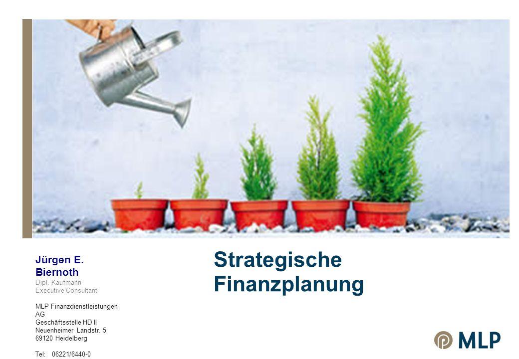 Strategische Finanzplanung Jürgen E.