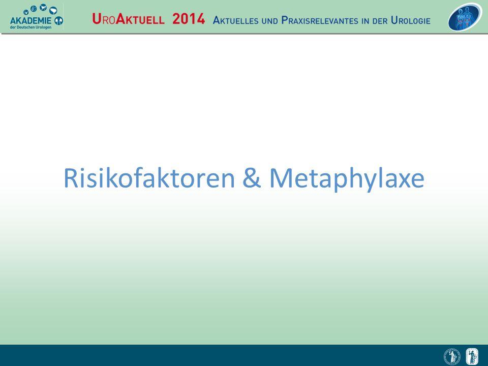 Risikofaktoren & Metaphylaxe